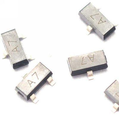 50pcs Bav99 A7 0.2a70v Sot-23 Smd Switch Transistor