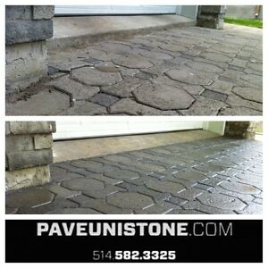 DRIVEWAY CLEANING - HIGH PRESSURE CLEANING - UNISTONE & CONCRETE West Island Greater Montréal image 4