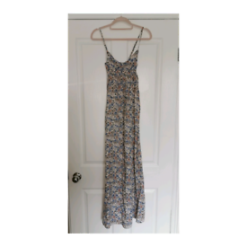 Brand new H&M floral cupped maxi dress size xs