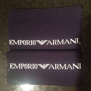 Emporio Armani Scarf Navy Blue