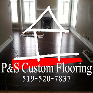 P&S Custom Flooring - 40 Years of Reliable Service!