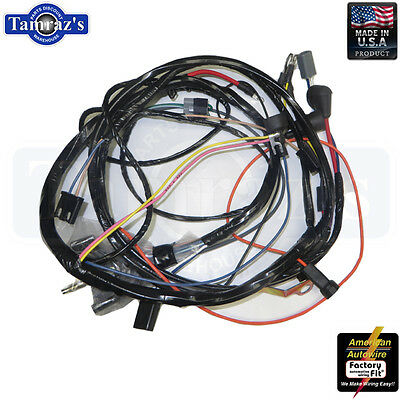 64-67 Cutlass 442 Heater Control Wiring Harness W//O AC