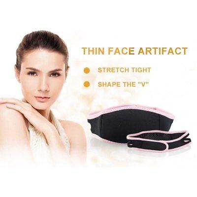 Slimming Chin V-Line Face Mask Cheek Lift Up Thin Shaper Belt Strap Bandage - V Mask