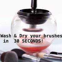 STYLE PRO ! CLEAN AND DRY YOUR MAKEUP BRUSHES IN 30 SECONDS !