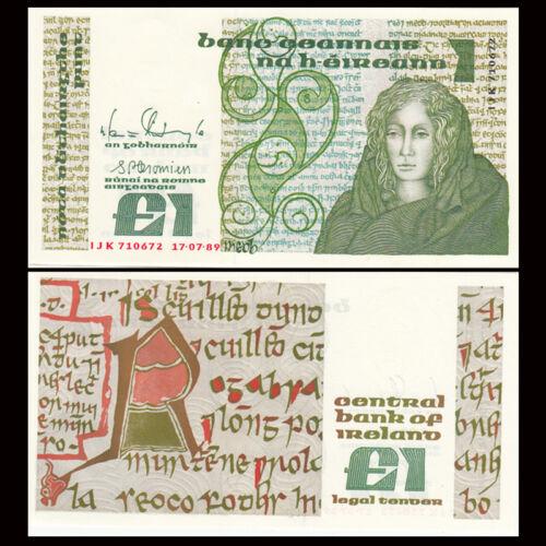 Northern Ireland 1 Pound,  1989, P-70d, UNC