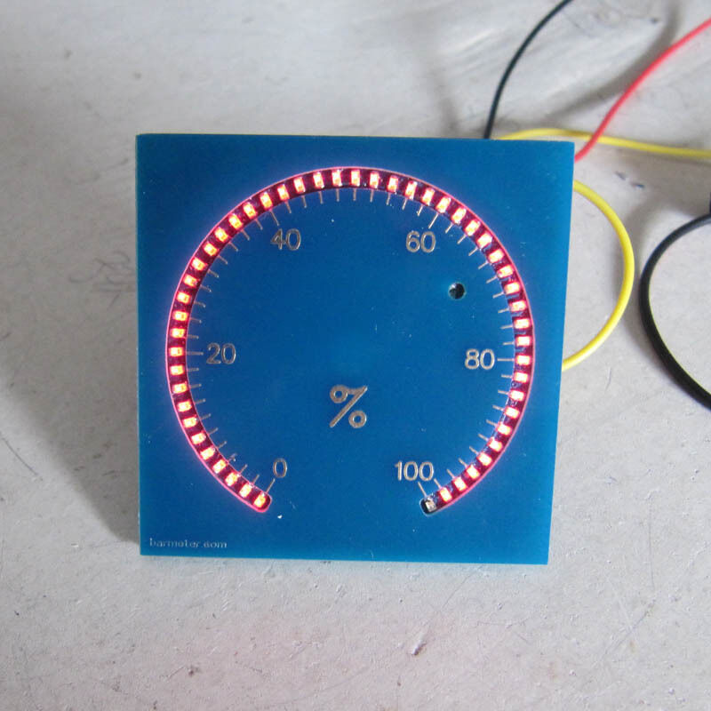 LED Circular Tachometer Leak Indicator with Automatic light-adjusting 300 degree