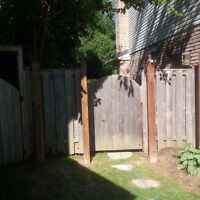 Cedar Gate and Fence Panels