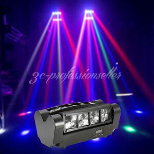 2x 150W RGBW LED Beam Sound/DMX512 Moving Head Disco DJ Stage Bar Club Pub Light