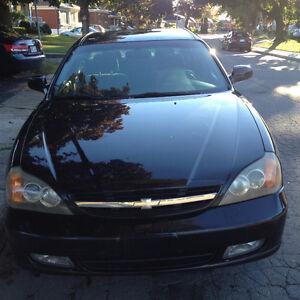 Chevrolet Epica 2004 noir très propre  1100$180320klm