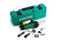 Vinyl welder leister 110v full kit
