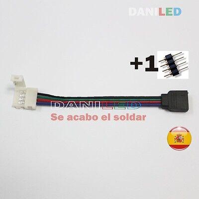Conector con cable hembra de 4 pines RGB para tiras led ,...