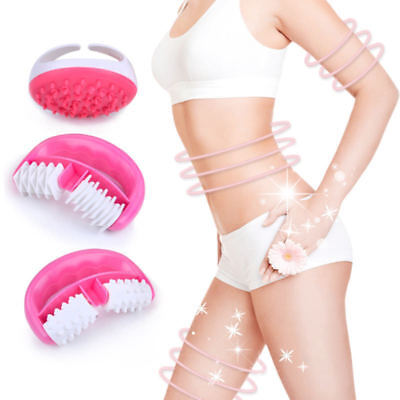 Anti Cellulite Massager Mitt and 2pcs Brush Roller Set  Legs Arms Treatment