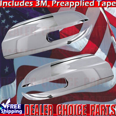 For 2009 2010 2011 2012 2013 2014 2015 Nissan Maxima Chrome Mirror COVERS W/TS