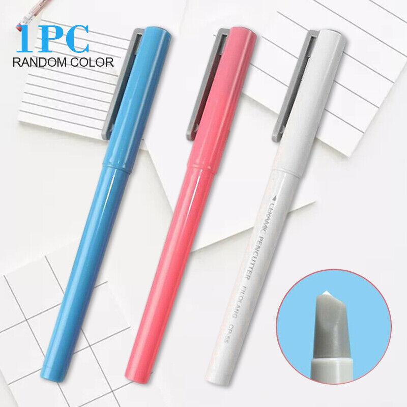 paper pen cutter ceramic blade cutting no
