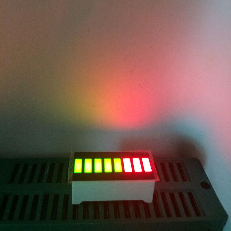 5pcs 8 Segment LED Bargraph Modules Bi-color Green RED Bar-graph LED Display
