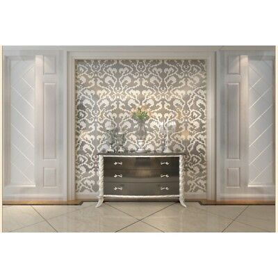 Mosaic Collages Silver Vines Flower Pattern Home Hotel Deco Art Mosaics Tiles