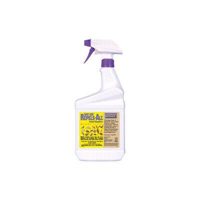 Bonide Organic Repels-All Animal Repellent Spray, RTU, 32 oz