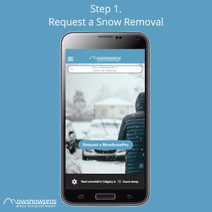 On-Demand Residential Snow Removal APP - YOU SET THE PRICE/TIME