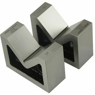 Vee Blocks Precision Ground Faces Cast Iron V-block Pair Moore And Wright 212