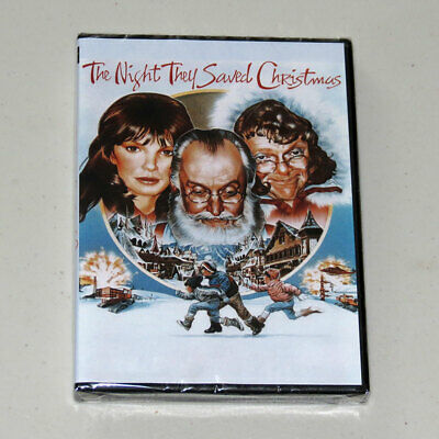 The Night They Saved Christmas (DVD) 1984 **NEW SEALED**