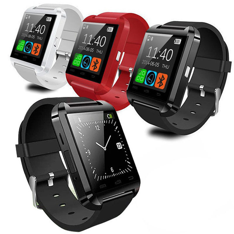 GT08 Touch Screen Bluetooth GSM Smart Wrist Watch Phone Mate For Android IOS