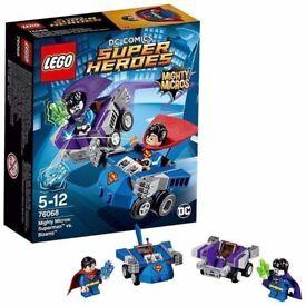 LEGO 76068 Mighty Micros Superman vs Bizarro: Brand new and unopened