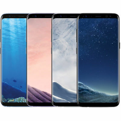 Samsung Galaxy S8+ Plus G955U 64GB Unlocked GSM Smartphone SHADOW & BLACK DOT