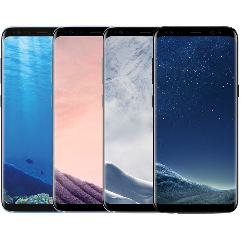 Android Phone - Samsung Galaxy S8+ PLUS G955U 64GB Unlocked GSM 4G LTE Android Smartphone SHADOW