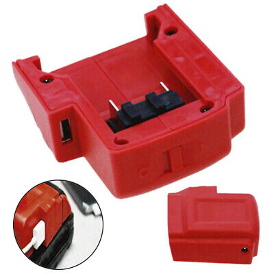 USB Charger Adapter Power Source For Milwaukee M18 Battery A