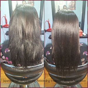 Olaplex treatment and Japanese straightening keratin rebonding Kitchener / Waterloo Kitchener Area image 2