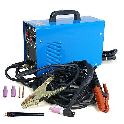 Tigmma Dc Inverter Acdc Stainless 200a Ws-200d Welder Dual Voltage Brand New