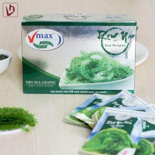 Rong Nho Vmax - Dry Sea Grapes - 1 Box (220 grams)