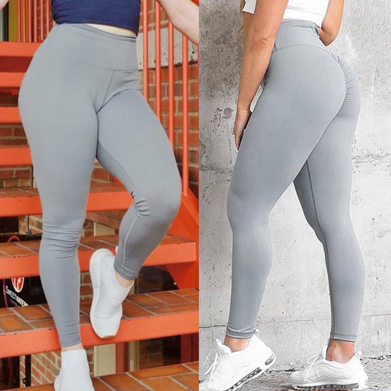 Damen Yoga Hose Push Up Leggings Anti Cellulite Fitness H¨¹fte Jogging Hose Gym