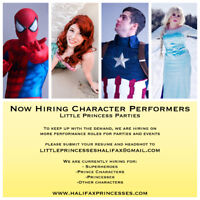 Now Hiring Children's Entertainers | male and female roles avail
