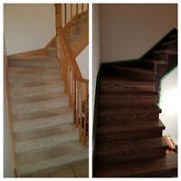 Sanding and refinish Floors