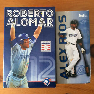 Blue Jays Bobblehead Alomar or Rios