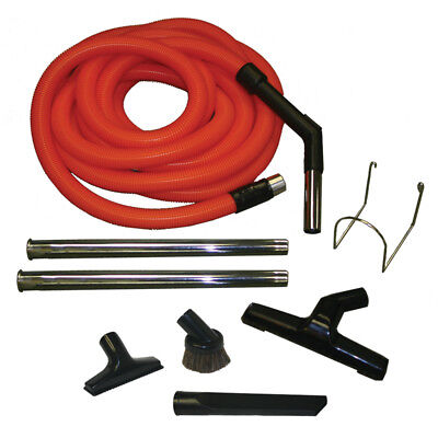 Central Vacuum Home Kit For Auto Car Garage w/ Hose&Attachments for Beam -