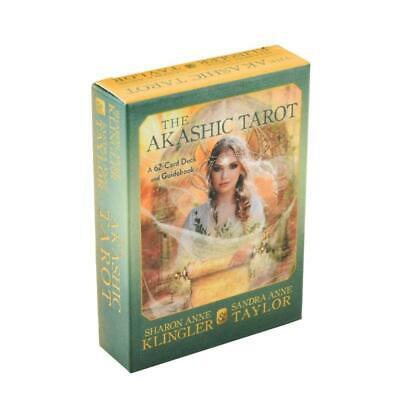 The Akashic Tarot 62 Cards Deck and Fate Family Party Board Game