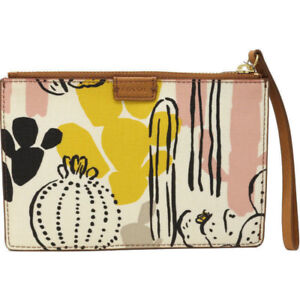 Fossil Womens RFID Coin Pouch zip wallet purse - new