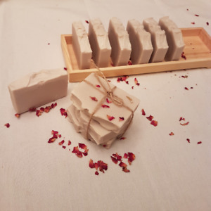 homemade soap and lip balm for sale.  perfect party favour gift
