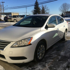 2014 Nissan Sentra SV with Alpine NAV and 2 way Remote Starter