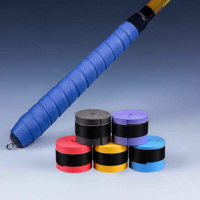 Anti-Slip Racket Over Grip Tennis Badminton Squash Bat Grip Tape Protector QK