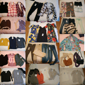 Lot de vêtements adolescentes