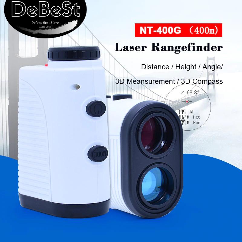 Golf Laser Range Finder w/Slope Compensation Angle Scan Pins