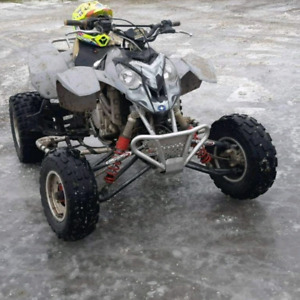 Trade my polaris predator 500 and my 2008 cbr125