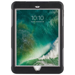 "Griffin Survivor Case for iPad 9.7"" 2017 2018 - Black Clear"