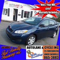 2009 Toyota Matrix Automatic with  AC,Cruise, SHARP Only $6995 Bedford Halifax Preview