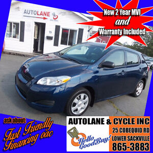2009 Toyota Matrix Automatic with  AC,Cruise, SHARP Only $6995