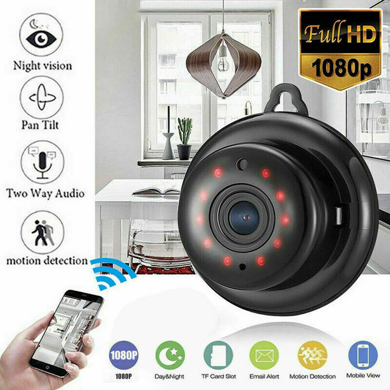 Mini Wireless Wifi Spy Camera IP Security Camcorder HD 1080P