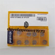 10PCS//box MITSUBISHI QOMT1651R-M2 VP15TF NEW Carbide Insert